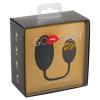 GoGasm Pussy & Ass - anál és hüvelyi gésagolyó duó (fekete)