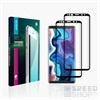 GoldSpin Samsung A202 Galaxy A20e Nano Silk teljes kijelzős üvegfólia, fekete
