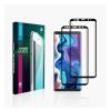 GoldSpin Samsung Galaxy A51 Nano Silk teljes kijelzős üvegfólia, fekete