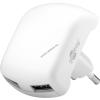 Goobay hálózati fali adapter 2 x USB aljzat 2,1A fehér