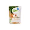 Good Gout Bio, extra szűz olívaolajjal (1%) készült bébiétel 6 hónapos kortól - Sárgarépa és csirkehús 190 g