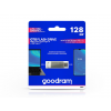 Goodram 128 GB OTG Flash Drive pendrive 2in1 USB Type-A + USB Type-C csatlakozóval - 60/20 - Goodram ODA3 USB 3.2 - ezüst