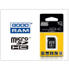 Goodram 16 GB microSDHC™ Class 4 memóriakártya 15/4 + SD adapter