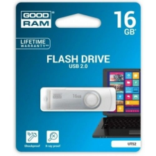 Goodram 16GB USB 2.0 fehér pendrive Artisjus matricával - UTS2-0080W0R11 pendrive