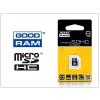 Goodram 8 GB microSDHC™ Class 4 memóriakártya 15/4