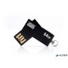 """Goodram Pendrive, 64GB, USB 2.0, 20/5 MB/sec, fémház, GOODRAM """"UCU2"""" fekete"""