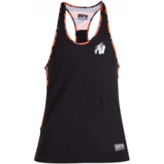 Gorilla Wear Sacramento Camo Mesh trikó (fekete-narancs) (1 db)