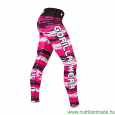 Gorilla Wear SANTA FE TIGHTS fekete/pink S leggings Gorilla Wear