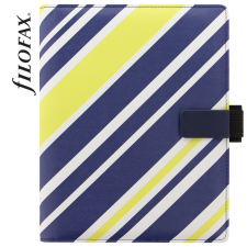 Goss Filofax Tablet Case Borító, Stripes pánt, Kicsi (S) tablet tok