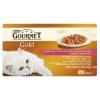 Gourmet Gold Duó Élmény teljes értékű állateledel felnőtt macskák részére 4 ízben 4 x 85 g