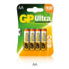 GP BATTERIES GP 15AU 1,5V AA LR6 Ultra alkáli elem 4db / csomag