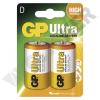 GP BATTERIES LR20 GP13AU-C2 Ultra alkáli góliát elem bliszteres