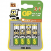 GP Minion GP LR6 (AA) 3 + 1 db bliszter