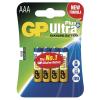 GP Ultra Plus elem R03 (mikro, AAA) 4db/bliszter