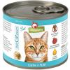 Granatapet DeliCatEssen lazacos és pulykahúsos konzerv macskáknak (6 x 200 g) 1.2kg