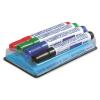 Granit Táblamarker készlet, 2-3 mm, kúpos, mágneses tolltartóval, GRANIT  M460 , 4 különböző szín