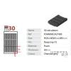 Gratnells Szivacsos tárolóbetét - 30 db számológépnek (alternatív elrendezés)