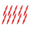 Graupner SJ Graupner COPTER Prop 5x3 légcsavar (10 db) - piros