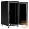 """Great Lakes GL24E-6060G-BL 24U 600 x 600 19""""-os álló rack szekrény"""