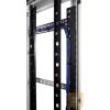 Great Lakes VLB-37100 Lacing bar kit, 1 db vertikális, 2 db horizontális lacing bar + 6 db CM-01 tépőzáras kábelrendező, GL37E-60100-hoz
