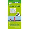 Great Lakestérkép - Michelin 173