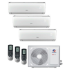 Gree GWHD(24) / 3 * 2,5 kW GWH09QB-K6DND6I/I Lomo Plusz Inverteres Trial Split Oldalfali klíma szett