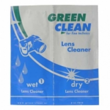Green Clean Lens Cleaner - nedves/száraz kendők 50db fényképező tartozék