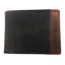 GREEN DEED kétszínű, nyomott logós, szabadon nyíló pénztárca GDF1021
