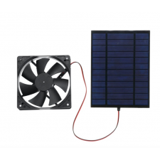 GREEN ENERGY LTD Napelemes ventilátor 20W 12/24V napelemes energiatakarékos szellőztető ventilátor ventilátor