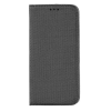 GSMOK Flip Tok Mágneses Huawei P40 Lite E Fekete Telefontok
