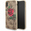 Guess 4G Flower Desire tok iPhone X - barna