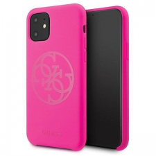 Guess Etui Guess GUHCN65LS4GFU iPhone 11 Pro Max fukszia kemény tok Szilikon 4G árnyalatnyi telefontok tok és táska