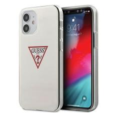 """Guess GUHCP12SPCUCTLWH iPhone 12 5,4"""" fehér kemény tok Triangle Collection Guess / GUE000853 telefontok tok és táska"""