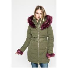 GUESS JEANS - Kapucnis kabát - zöld