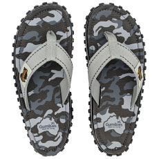Gumbies Flip-flop Gumbies Islander Grey Camouflage Szín: szürke / Cipőméret (EU): 43