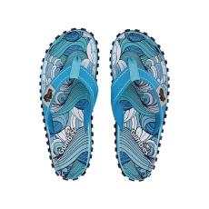 Gumbies - Flip-flop Islander Waves - kék - 1314503-kék