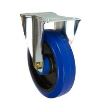 Gumi szállító kerék peremmel, 200 mm-es átmérő, görgős csapágy teher gumiabroncs