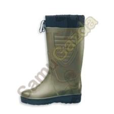 Gumicsizma 36 bélelt fűzős munkavédelmi cipő