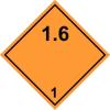 Gungldekor ADR 1.6 bárca Robbanó anyagok és targyak