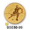 Gungldekor Érembetét jégkorong jéghoki BSE50-99 50mm arany