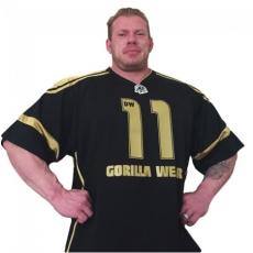 GW ATHLETE T-SHIRT DENNIS WOLF (BLACK/GOLD) [XL]