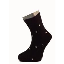 Gyerek zokni - Fekete-fehér pöttyös 29-30 gyerek zokni
