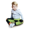 Gyermek fleec nadrág VG  lime - antracit   Zöld   104/110