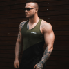GymBeam Flexin Military Green atléta - GymBeam M
