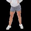 GymBeam Női fitness rövidnadrág Fly-By Grey - GymBeam M