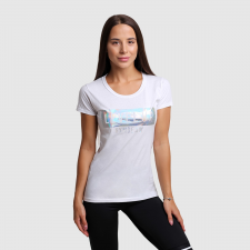GymBeam női póló Level Up White XL női póló