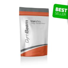 GymBeam TrueWhey fehérje - GymBeam + póló ajándékba 1000 g vanilla stevia