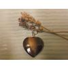 Gyöngyház szív medál ( )