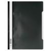 Gyorsfűző Durable A/4 PVC átlátszó előlap fekete