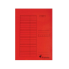 Gyorsfűző karton A/4 VICTORIA piros 5 db IDPGY07